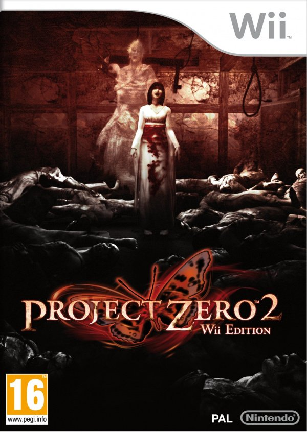Project Zero 2: Wii Edition Cover Artwork