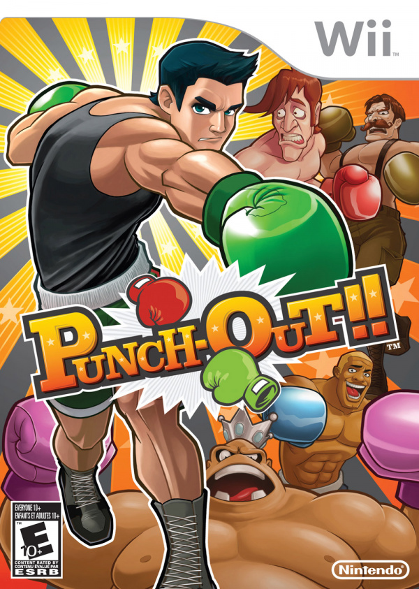 Punch-Out!! Cover Artwork