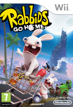 Rabbids Go Home Cover (Click to enlarge)
