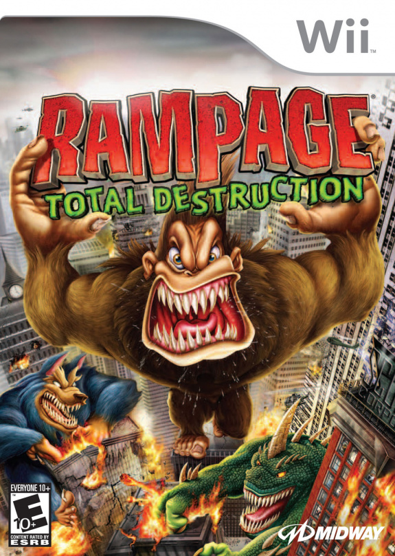 Rampage Total Destruction Cover Artwork