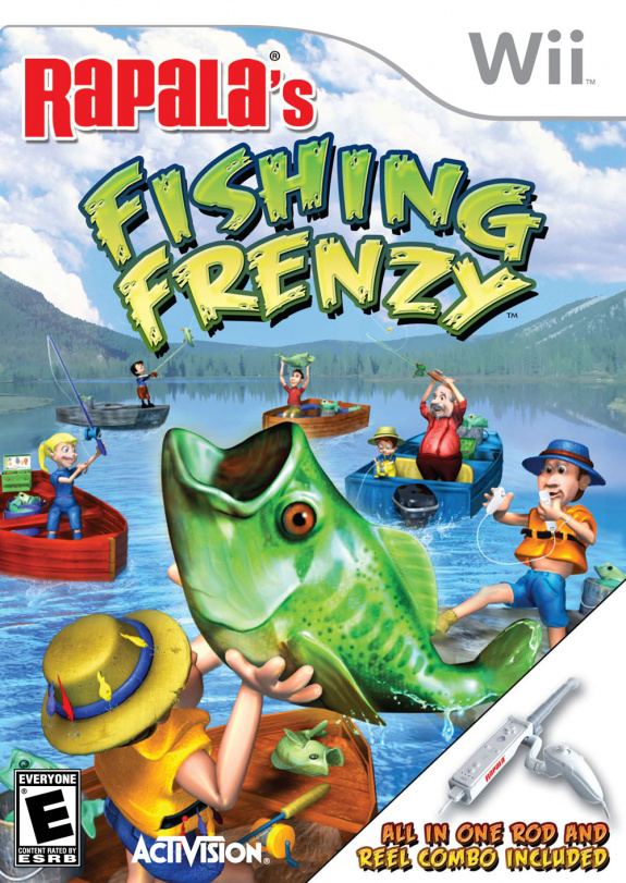 Rapala 39 s fishing frenzy wii news reviews trailer for Fish frenzy game