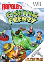 Rapala's Fishing Frenzy Cover (Click to enlarge)