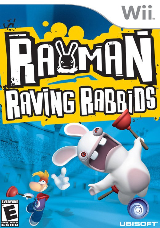 Rayman Raving Rabbids Cover Artwork