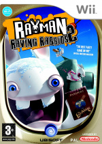 Rayman Raving Rabbids 2 Cover (Click to enlarge)
