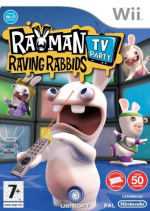 Rayman Raving Rabbids TV Party Cover (Click to enlarge)