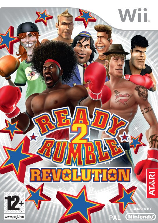 Ready 2 Rumble: Revolution Cover Artwork