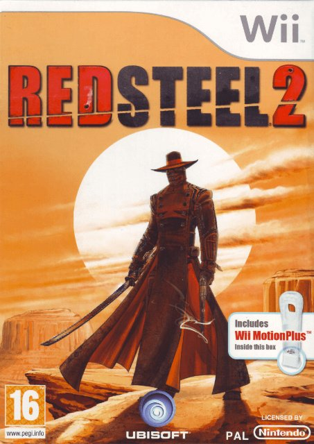 Red Steel 2 Cover Artwork