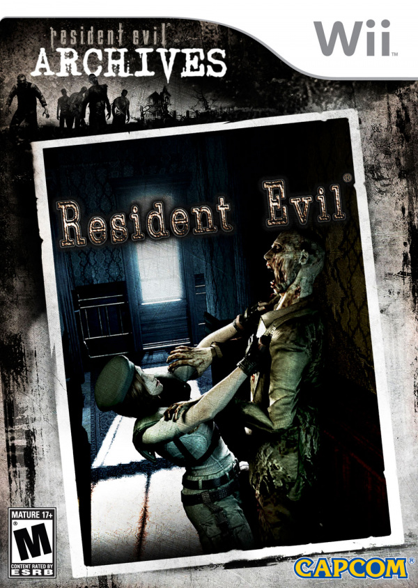 Resident Evil Cover Artwork
