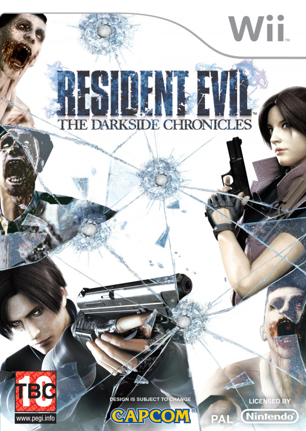 Resident Evil: The Darkside Chronicles Cover Artwork