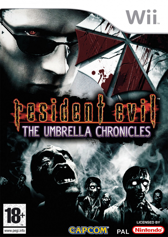 Resident Evil The Umbrella Chronicles Cover Artwork