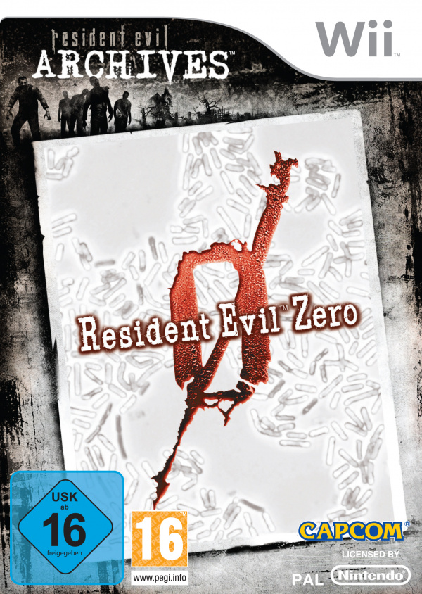 Resident Evil Zero Cover Artwork