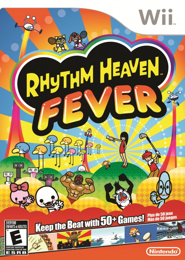 Rhythm Heaven Fever Cover Artwork