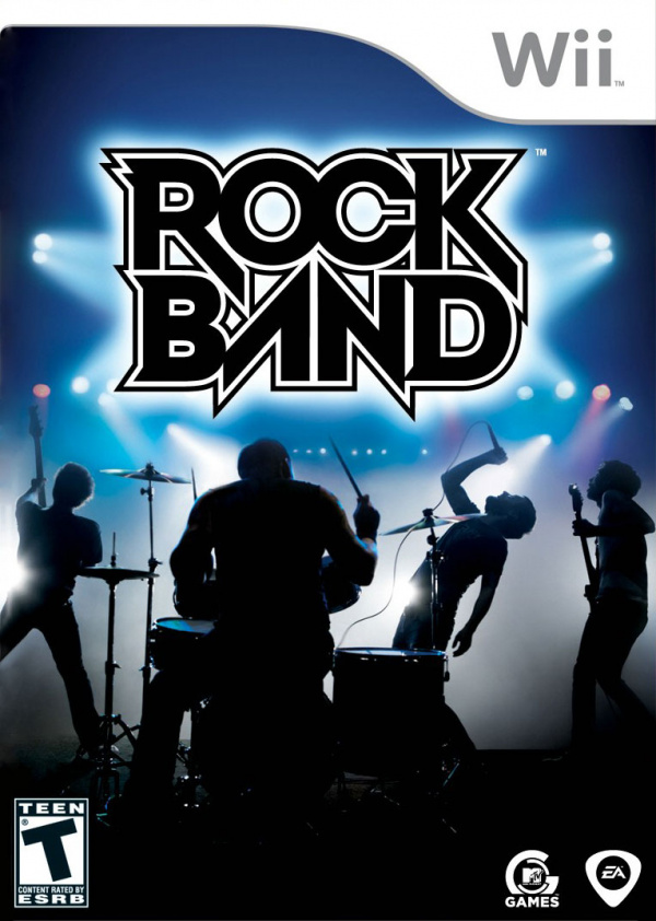 Rock Band Cover Artwork