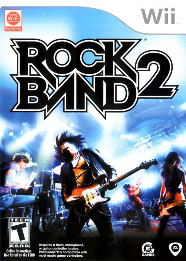 Rock Band 2 Cover Artwork