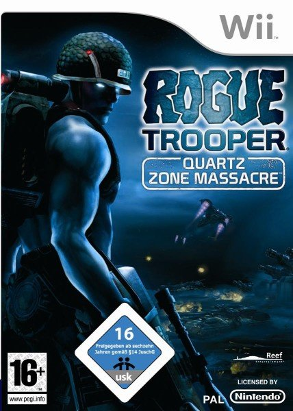 Rogue Trooper: Quartz Zone Massacre Cover Artwork