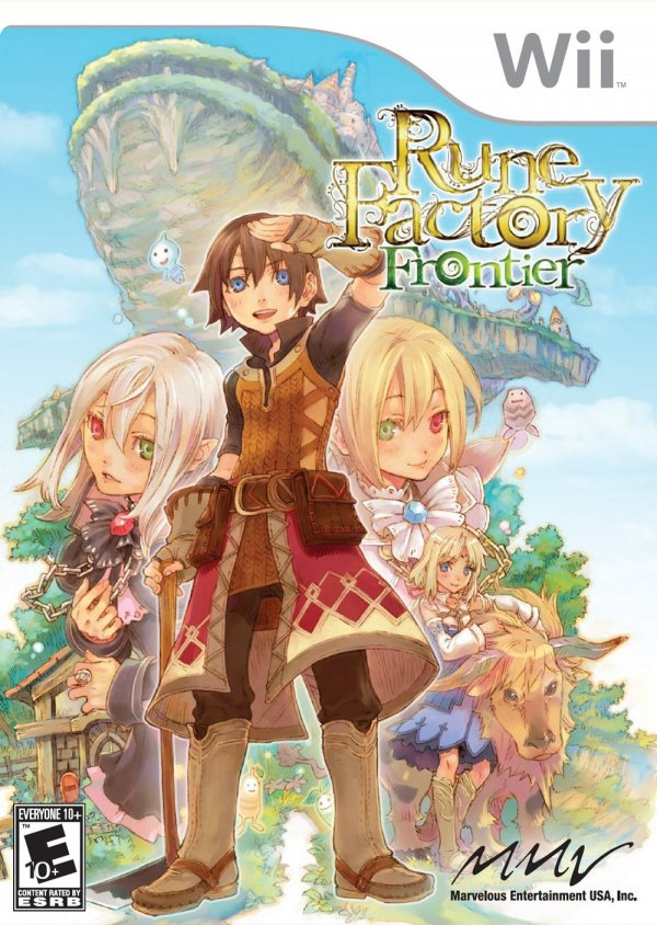 Rune Factory: Frontier Cover Artwork