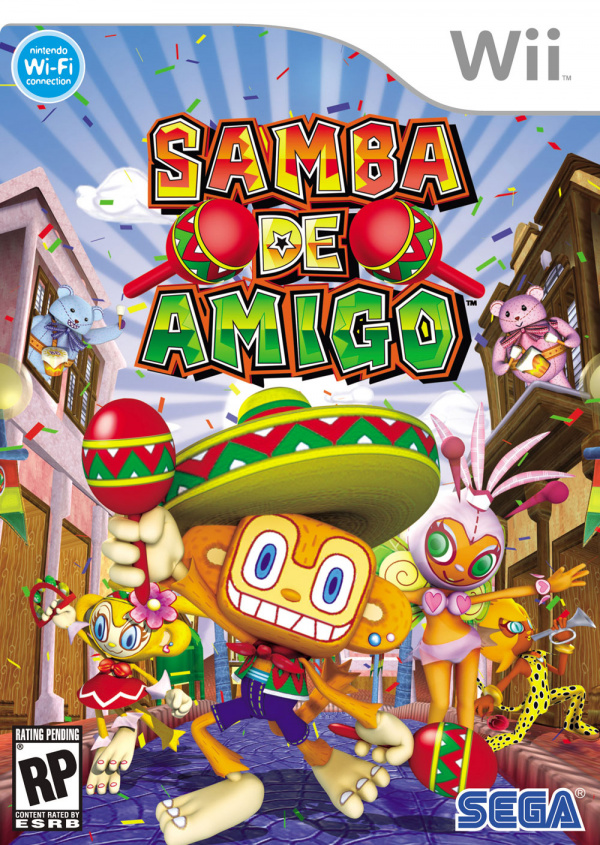 Samba De Amigo Cover Artwork