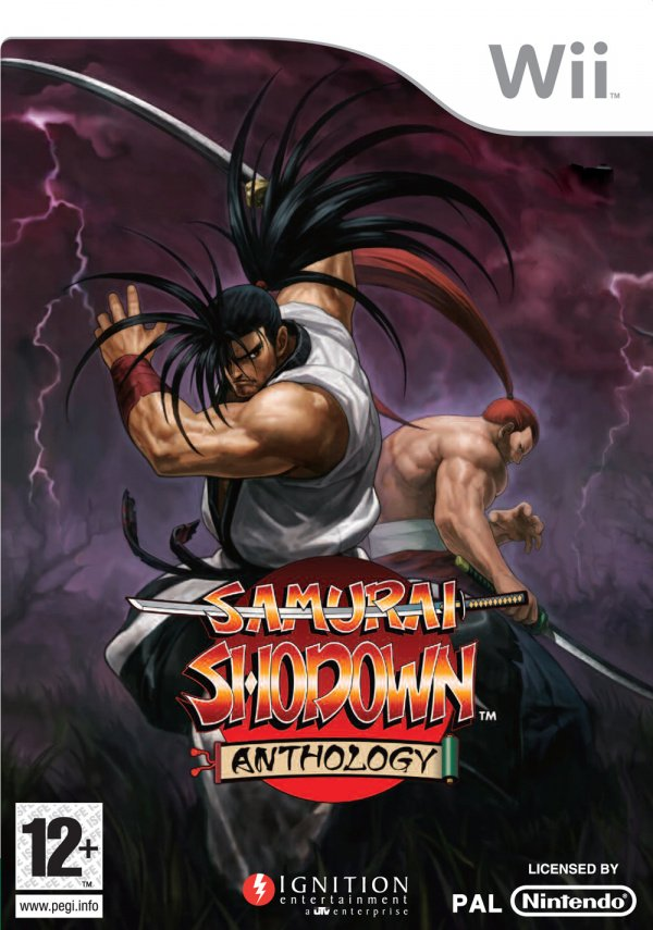 Samurai Shodown Anthology Cover Artwork