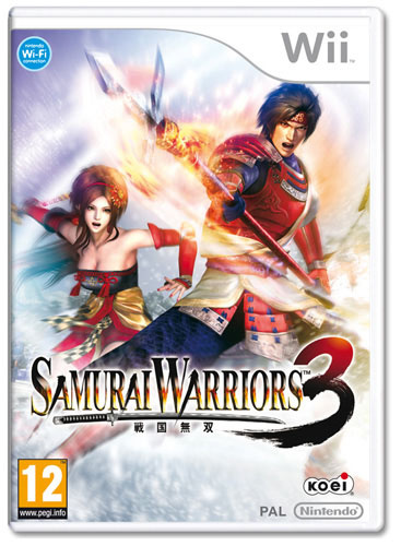 Samurai Warriors 3 Cover Artwork