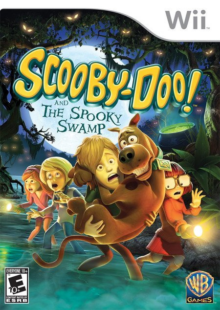 Scooby-Doo! and the Spooky Swamp Cover Artwork