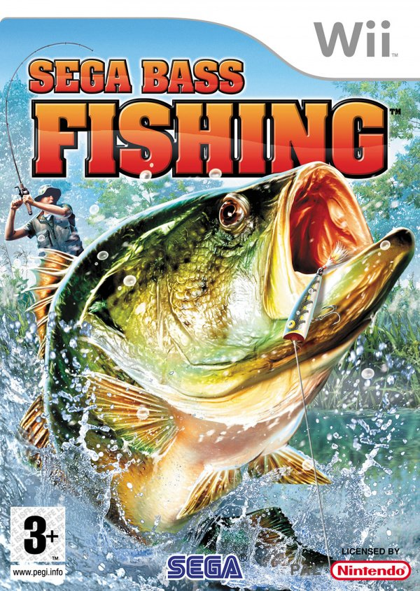 SEGA Bass Fishing Cover Artwork
