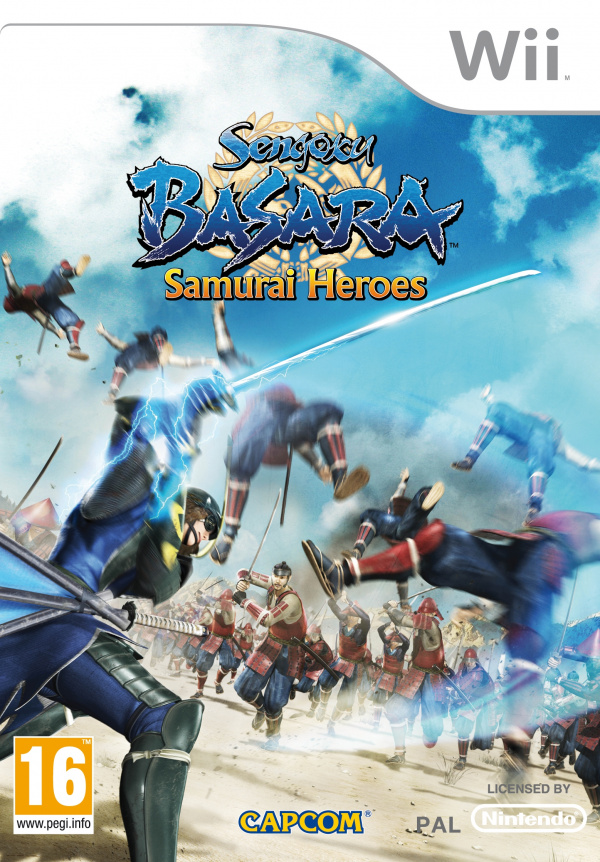 Sengoku BASARA Samurai Heroes Cover Artwork