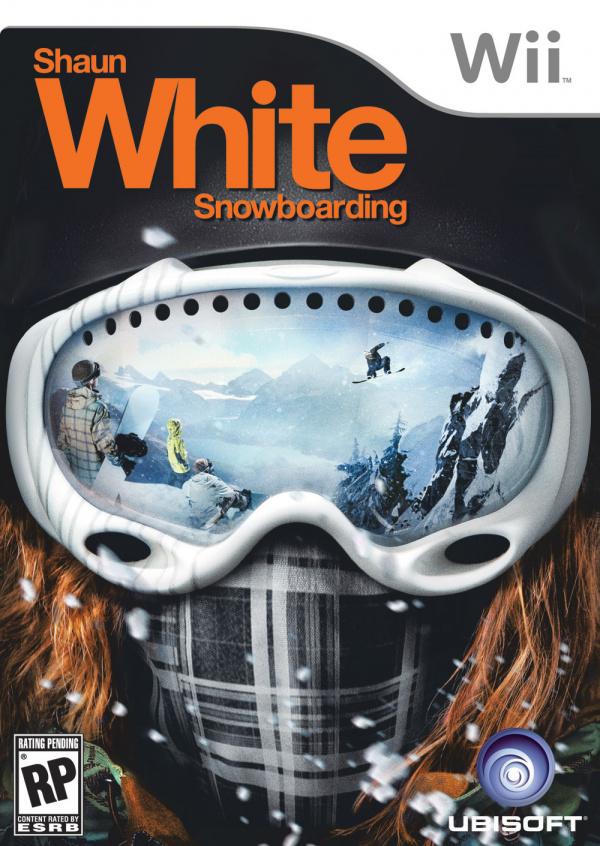 Shaun White Snowboarding: Road Trip Cover Artwork