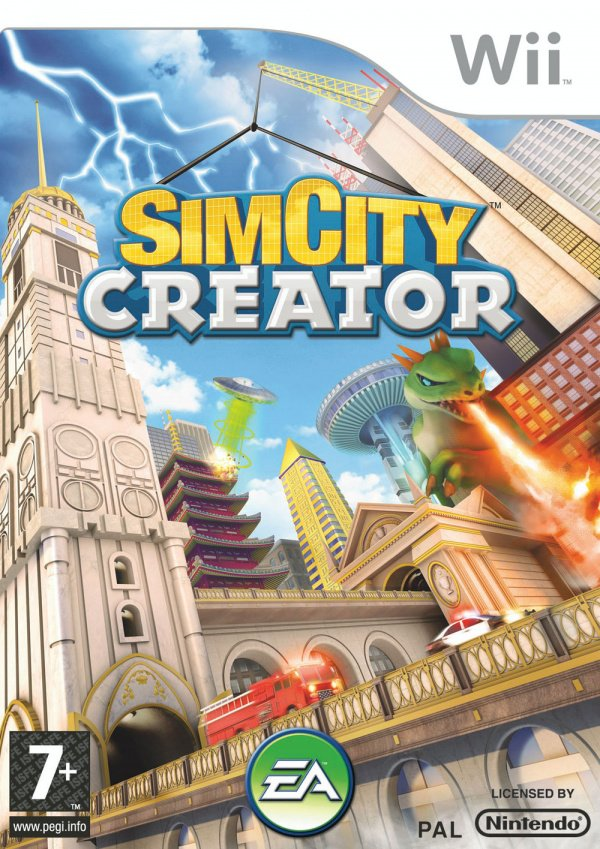 SimCity Creator Cover Artwork