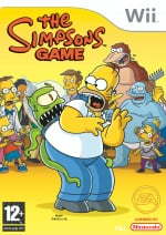 The Simpsons Game Cover (Click to enlarge)