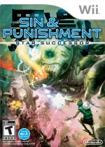 Sin and Punishment: Star Successor Cover (Click to enlarge)