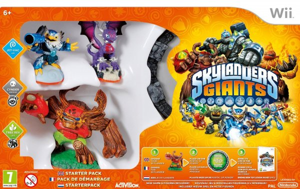 Skylanders Giants Cover Artwork