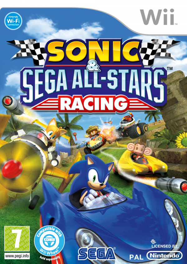 Sonic & SEGA All-Stars Racing Cover Artwork