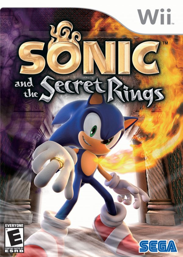 Sonic and the Secret Rings Cover Artwork
