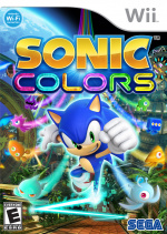Sonic Colours Cover (Click to enlarge)