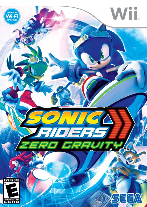 Sonic Riders: Zero Gravity Cover Artwork