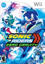 Sonic Riders: Zero Gravity Cover (Click to enlarge)