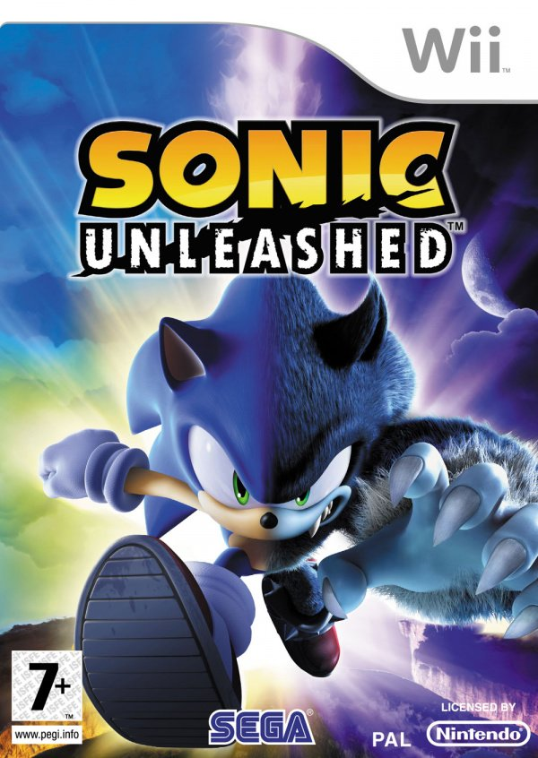 Sonic Unleashed Cover Artwork