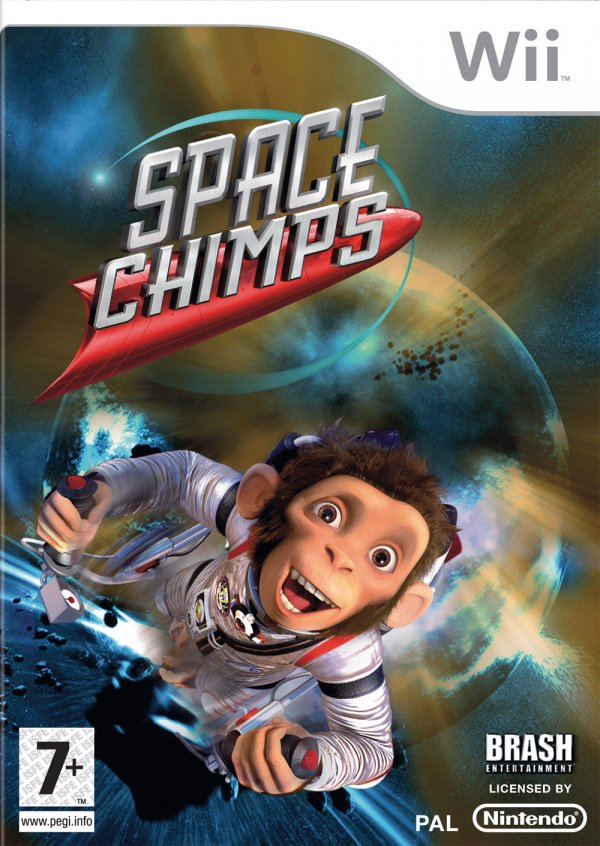 Space Chimps Cover Artwork