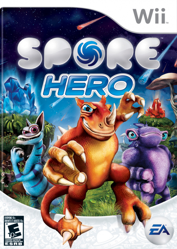 Spore Hero Cover Artwork