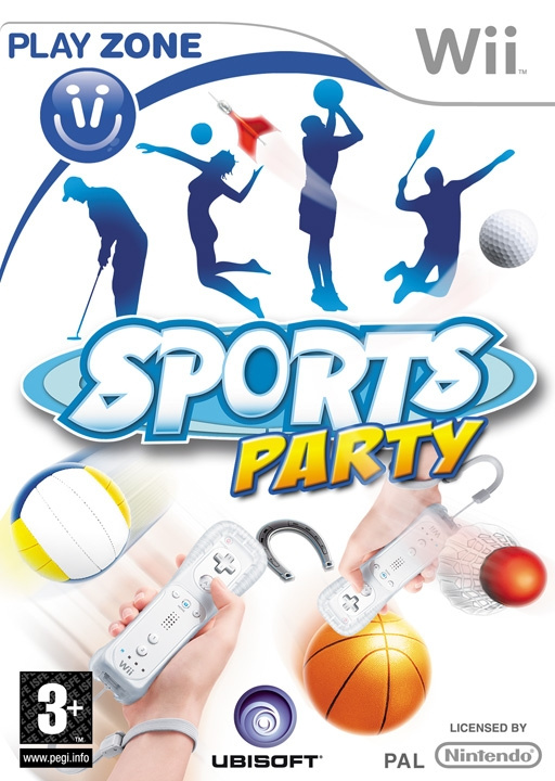 Sports Party Cover Artwork