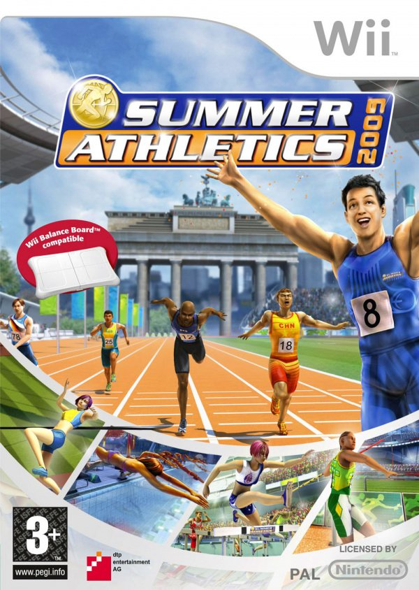 Summer Athletics 2009 Cover Artwork