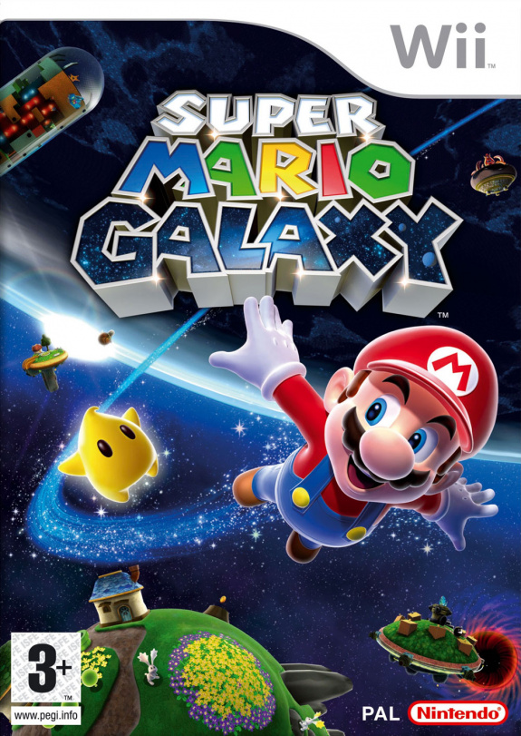 Super Mario Galaxy Cover Artwork