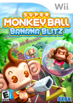 Super Monkey Ball: Banana Blitz Cover (Click to enlarge)
