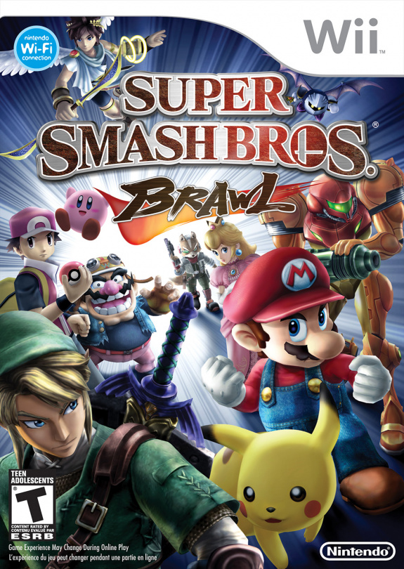 Super Smash Bros Brawl Cover Artwork