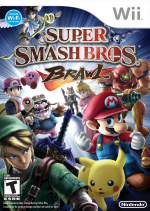 Super Smash Bros. Brawl Cover (Click to enlarge)
