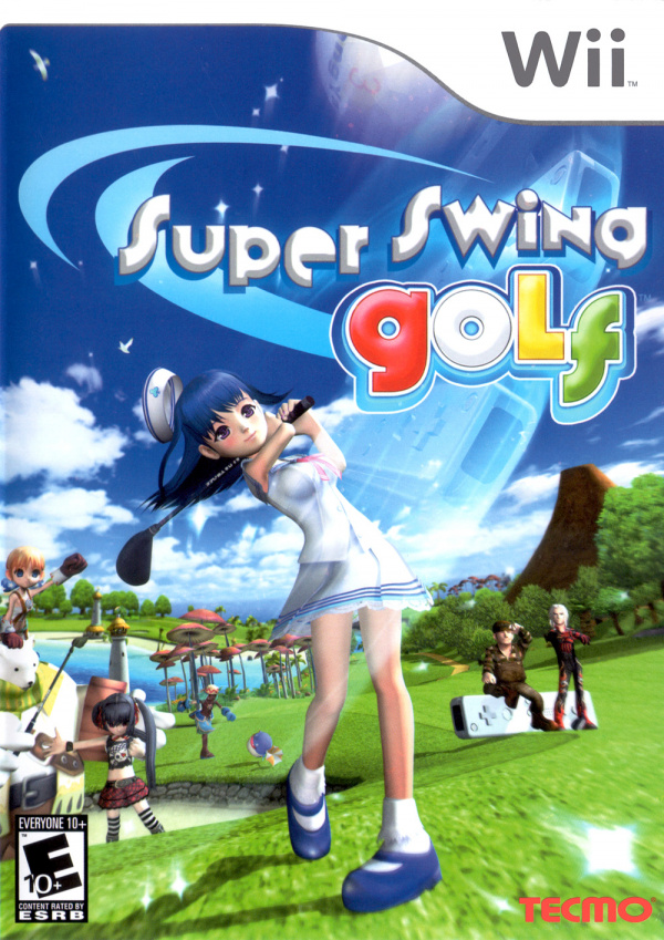 Super Swing Golf PANGYA Cover Artwork