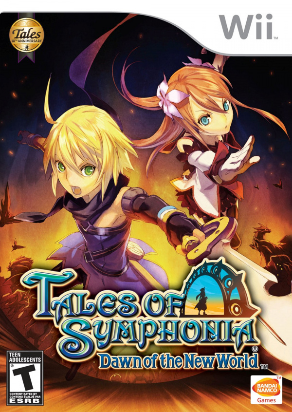 Tales of Symphonia: Dawn Of The New World Cover Artwork
