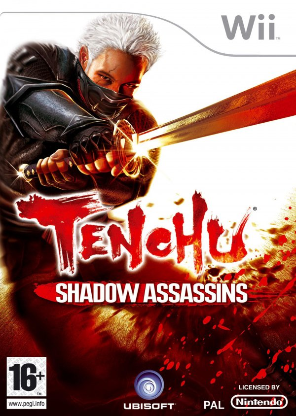 Tenchu: Shadow Assassins Cover Artwork