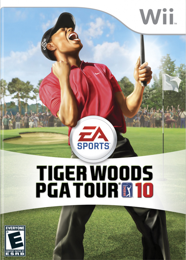 Tiger Woods PGA Tour 10 Cover Artwork