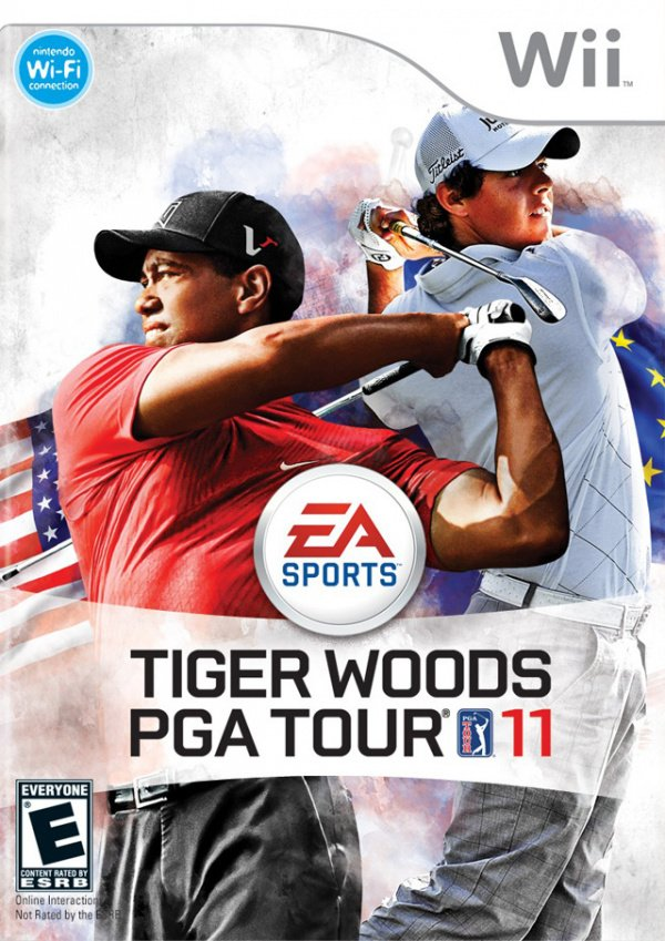 Tiger Woods PGA Tour 11 Cover Artwork